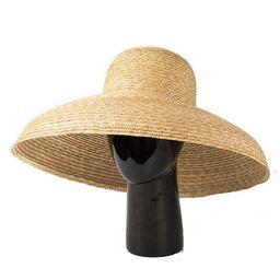 European and American vintage elegant bowl-shaped straw hat lady hat in summer sun block hat. | Etsy (US)