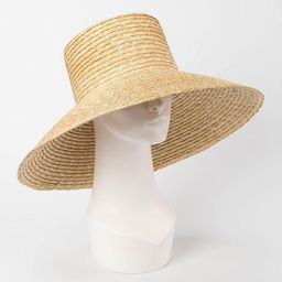 Tall flat-topped large eaves straw straw hats outdoor travel sun protection sand beach hats | Etsy (US)