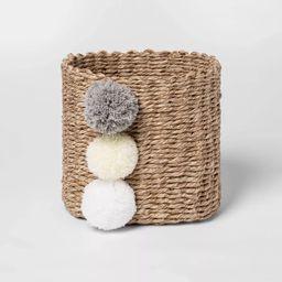 Small Paper Rope Decorative Basket Neutrals - Cloud Island™   Target