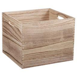 Large Wood Milk Crate Toy Storage Bin - Pillowfort™   Target