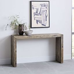 Emmerson® Reclaimed Wood Console - Stone Gray   West Elm (US)