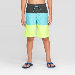 Boys' Tiered Swim Trunks - Cat & Jack™   Target