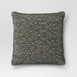 Green Sweaterknit Oversized Throw Pillow - Threshold | Target