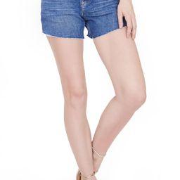 Women's Paige Noella Cutoff Denim Shorts, Size 31 - Blue | Nordstrom