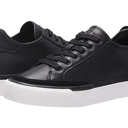 rag & bone RB Army Low Top Sneaker (Black Leather) Women's Lace up casual Shoes | Zappos