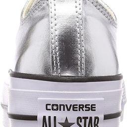 Converse Women's Chuck Taylor All Star Metallic Platform Low Top Sneaker | Amazon (US)