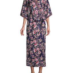 Floral-Print Kimono Wrap Maxi Dress | Saks Fifth Avenue OFF 5TH