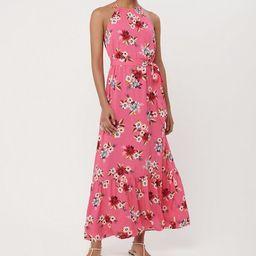 Zinnia Halter Maxi Dress | LOFT | LOFT
