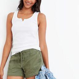 Slim-Fit Thermal-Knit Split-Neck Tank Top for Women | Old Navy (US)