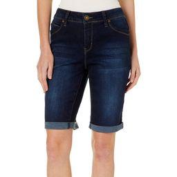 Royalty by YMI Womens WannaBettaButt Denim Bermuda Shorts | Walmart (US)