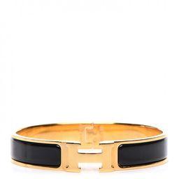 Hermes Bracelet Narrow Clic Clac H Enamel GM | StockX