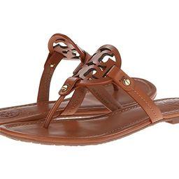 Tory Burch Miller Flip Flop Sandal (Vintage Vachetta) Women's Shoes | Zappos