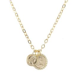 The Adventurer Double Gold Coin Necklace | Macys (US)