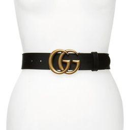 GG Logo Leather Belt   Nordstrom