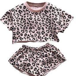 'Jade' Baby Leopard Print Set (4 Colors) | Goodnight Macaroon