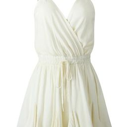 'Jolina' V Neck Wrap Front Tied Waist Strap Romper (3 Colors) | Goodnight Macaroon