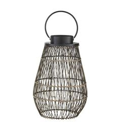 24.4 in. Large Outdoor Patio Bamboo Lantern   The Home Depot