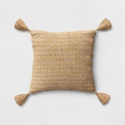 Tassel Outdoor Pillow Gold - Opalhouse™   Target