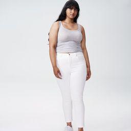 Seine High Rise Skinny Jeans 27 Inch - White | Universal Standard