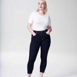 Seine High Rise Skinny Jeans 27 Inch - Dark Indigo | Universal Standard