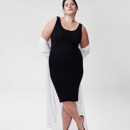 Foundation Tank Dress - Black | Universal Standard