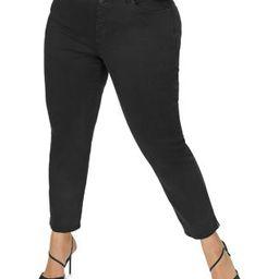 Sheri Slim Ankle Jeans in Black | Bloomingdale's (US)