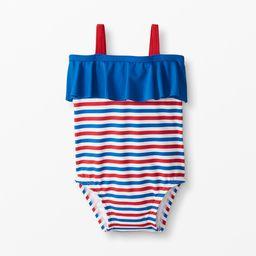Striped Print One Piece Swim Suit | Hanna Andersson