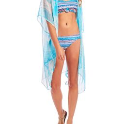 Cyn & Luca - Cyn & Luca Juniors' Tie Dye Kimono Swimsuit Cover up - Walmart.com | Walmart (US)