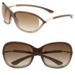 Jennifer 61mm Oval Oversize Frame Sunglasses   Nordstrom
