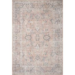 Skye Oriental Blush/Gray Area Rug | Wayfair North America