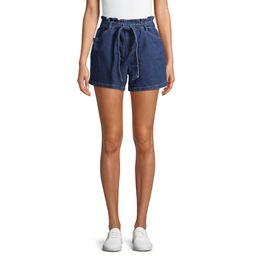 Time and True Women's Tie Waist Shorts | Walmart (US)