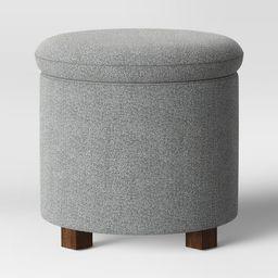 Pamona Round Ottoman Gray - Project 62 | Target