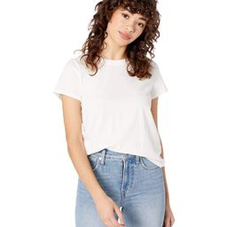 Madewell Northside Vintage Tee (White Wash) Women's Clothing | Zappos