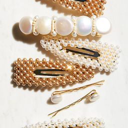 Pretty Beaded Clip Set | Free People (US)