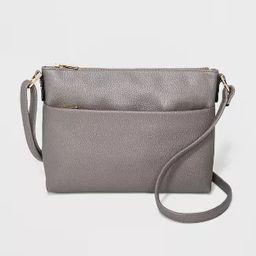 Zip Closure Crossbody Bag - A New Day™ | Target