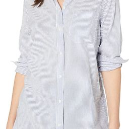 Amazon Brand - Goodthreads Women's Lightweight Poplin Long-Sleeve Oversized Boyfriend Shirt | Amazon (US)