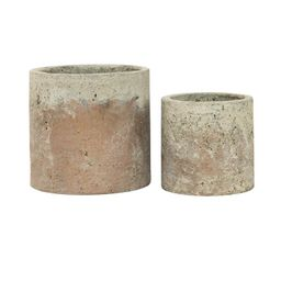 Golden Cement Pot | McGee & Co.