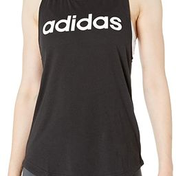 adidas Womens Essentials Linear Loose Tank Top | Amazon (US)