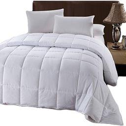 Royal Hotel Oversized King Down-Alternative Comforter - Duvet Insert, 100% Down Alternative Fill,... | Amazon (US)