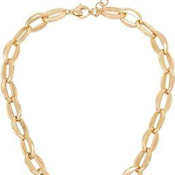 Robert Lee Morris Soho Gold Chain Link Collar Necklace | Amazon (US)