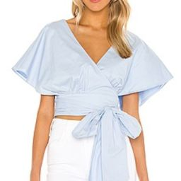 Lovers + Friends Annalee Top in Baby Blue from Revolve.com | Revolve Clothing (Global)