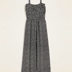 Smocked Jersey Cami Jumpsuit for Women | Old Navy (US)