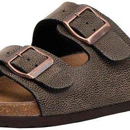 CUSHIONAIRE Women's Lane Cork Footbed Sandal with +Comfort | Amazon (US)
