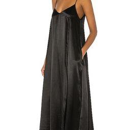 Satin Strappy Ankle Length Dress   Revolve Clothing (Global)