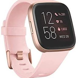 Fitbit Versa 2 Health and Fitness Smartwatch with Heart Rate, Music, Alexa Built-In, Sleep and Sw... | Amazon (US)