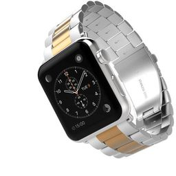 iPM Classic Two-tone Buckle Watch Band for Apple Watch | Walmart (US)