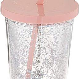 Ban.do Metallic Deluxe Sip Sip Insulated Tumbler With Reusable Silicone Straw, 20 Ounces, Glitter... | Amazon (US)