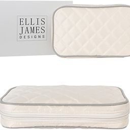 Ellis James Designs Jewelry Travel Organizer Elegant Pouch with Quilted Exterior and Padded Bag f... | Amazon (US)