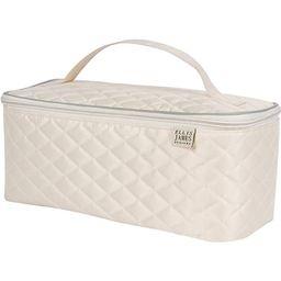 Ellis James Designs Large Travel Makeup Bag Organizer - Cosmetic Train Case Toiletry Bags for Wom... | Amazon (US)