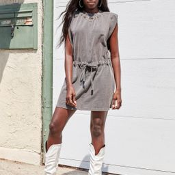 Tie and Take Things Slow Relaxed Mini Dress | NastyGal (US & CA)